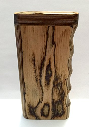 Handcrafted Dark Wood Swift Box with Spring Loaded Bat and More