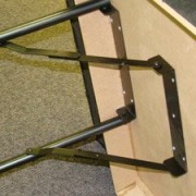 Poker Table Legs. Build Your Own Poker Table with Our Sturdy Steel Folding Poker Table Legs by Brybelly