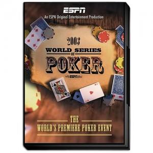2003 ESPN World Series of Poker WSOP DVD - Officially Licensed